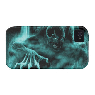Dead evil blue iPhone 4 case