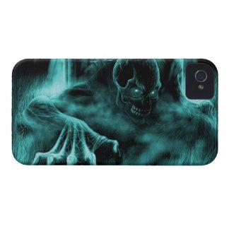 Dead evil blue Case-Mate iPhone 4 case