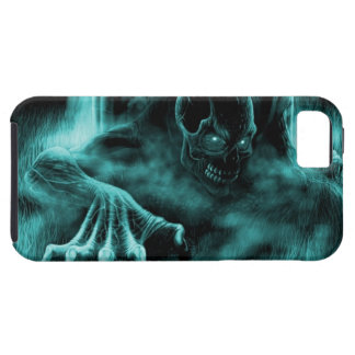 Dead evil blue iPhone 5 cases