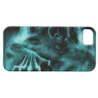 Dead evil blue iPhone 5 covers