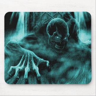 Dead evil blue mouse mat