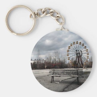 Dead Ferris Wheel Key Ring