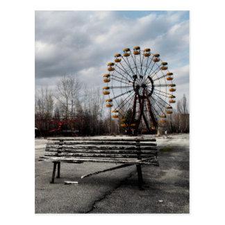 Dead Ferris Wheel Postcard