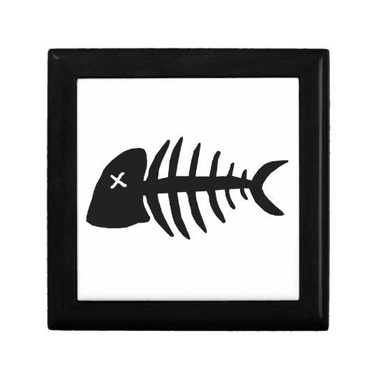 dead fish skeleton gift box