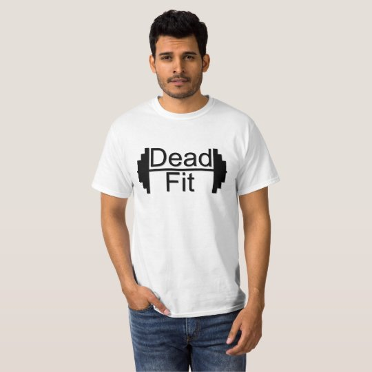 Dead Fit men's white tshirt