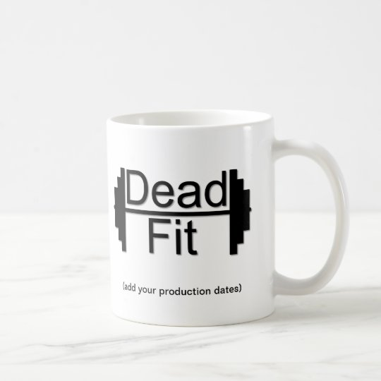 Dead Fit Production Photo Memento Mug