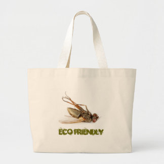 Dead fly - eco friendly large tote bag