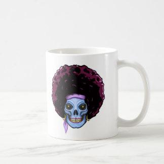 Dead groovy basic white mug