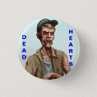 Dead Hearts Novel - Zombie Button
