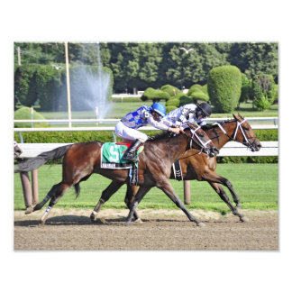 Dead Heat in the 95th. Shuylerville Stakes Photographic Print