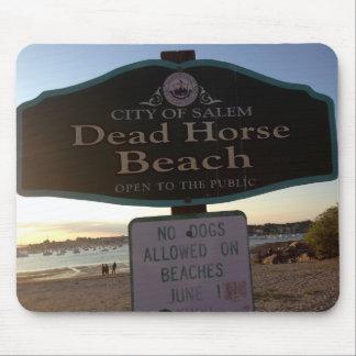 Dead Horse Beach Sign Salem MA Photo Mousepad