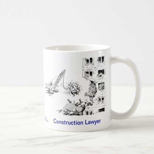 Dead Lawyer™ Construction Lawyer Coffee Mug