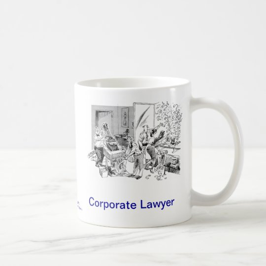 Dead Lawyer™ Corporate Lawyer Coffee Mug
