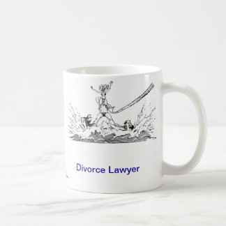 Dead Lawyer™ Divorce Lawyer Coffee Mug