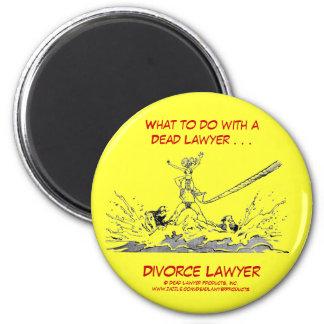Dead Lawyer™ Divorce Lawyer Magnet