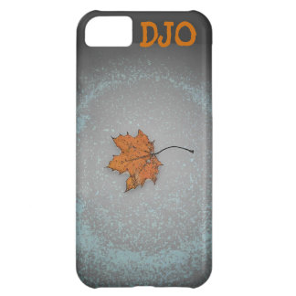 Dead Leaf on snow iPhone 5C Case