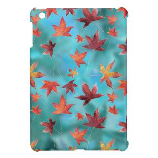 Dead Leaves over Cyan iPad Mini Covers