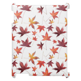 Dead Leaves White Case For The iPad 2 3 4