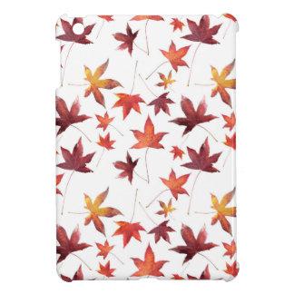 Dead Leaves White iPad Mini Cases