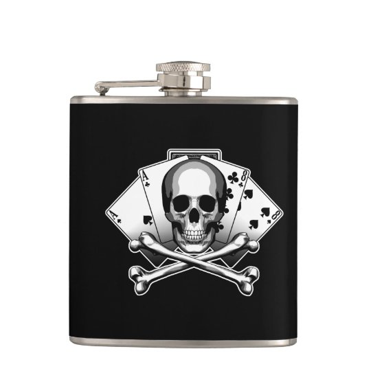 Dead Mans Hand: Aces and Eights Hip Flask