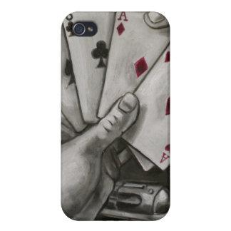 Dead Man's Hand iPhone 4/4S Case