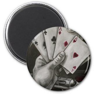 Dead Man's Hand Magnet