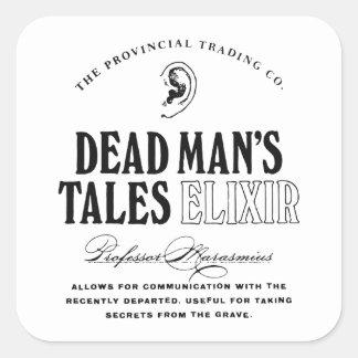 Dead Man's Tales Elixir Square Sticker