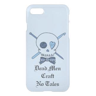 Dead Men Craft No Tales -Craft Skull (Bow Tie #2) iPhone 7 Case