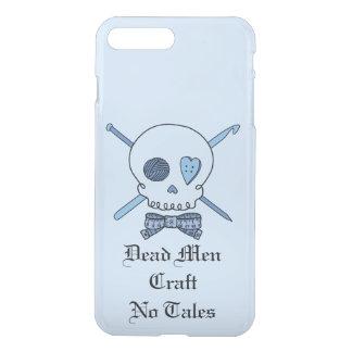 Dead Men Craft No Tales -Craft Skull (Bow Tie #2) iPhone 7 Plus Case