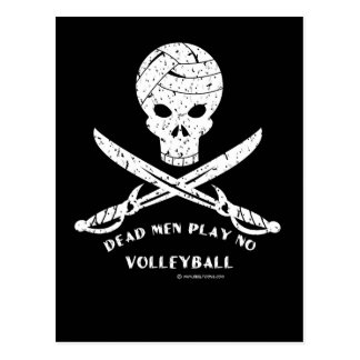 Dead Men Play No Volleyball: Post Card Distressed