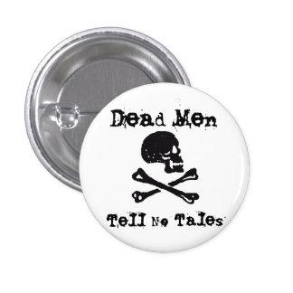 Dead Men Tell No Tales 3 Cm Round Badge