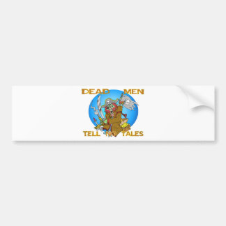 DEAD MEN TELL NO TALES BUMPER STICKER