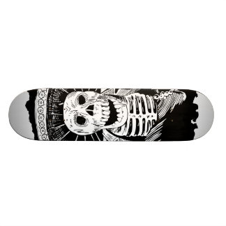 Dead Mexican Mad Mariachi Skull Skateboard Decks