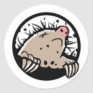 Dead Mole Sticker