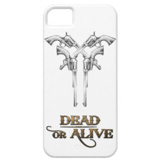 Dead or Alive Guns iPhone 5 Covers