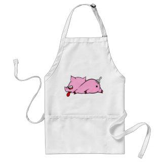 Dead Piggy Aprons