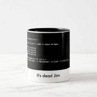 dead ping geek coffee mug