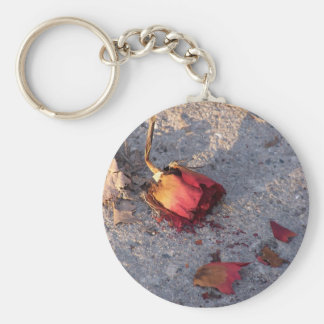 Dead Rose (color) Keychain