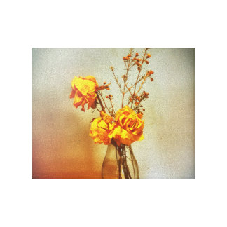 Dead Roses Canvas Print