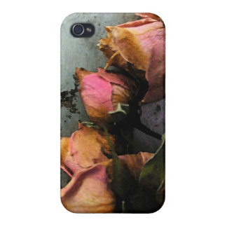 Dead Roses Watercolor iPhone 4 iPhone 4/4S Case