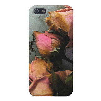 Dead Roses Watercolor iPhone 5 5S matte iPhone 5 Cover