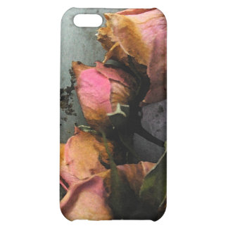 Dead Roses Watercolor iPhone 5C matte iPhone 5C Cover