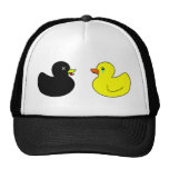 Dead Rubber Duck Mourned by Crying Rubber Duck Cap