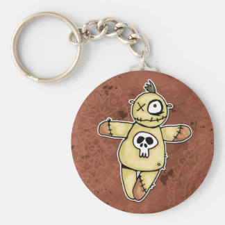dead said fred basic round button key ring