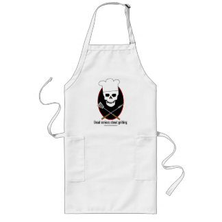 Dead Serious... grilling apron