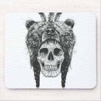 Dead shaman (b&w) mouse mat