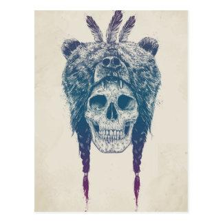 Dead shaman postcard