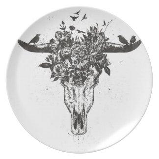 Dead summer (blackandwhite) plate