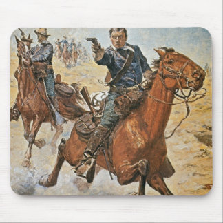 Dead Sure: a U.S. Cavalry trooper in the 1870s (co Mouse Mat