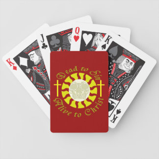 Dead to Sin - Alive to Christ Bicycle Playing Cards